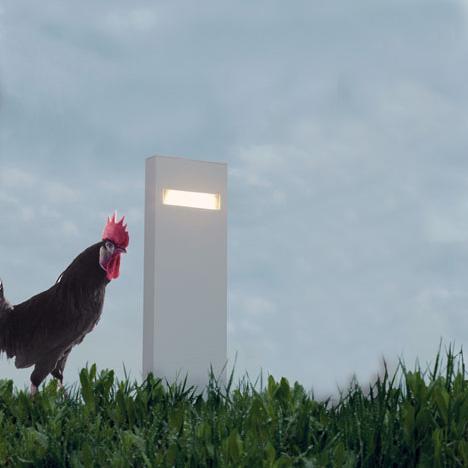 Artemide Nuda 50 LED Single-sided pedestal light, single