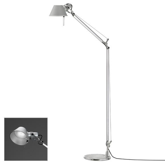 Artemide Tolomeo Lettura LED floor lamp with dimmer