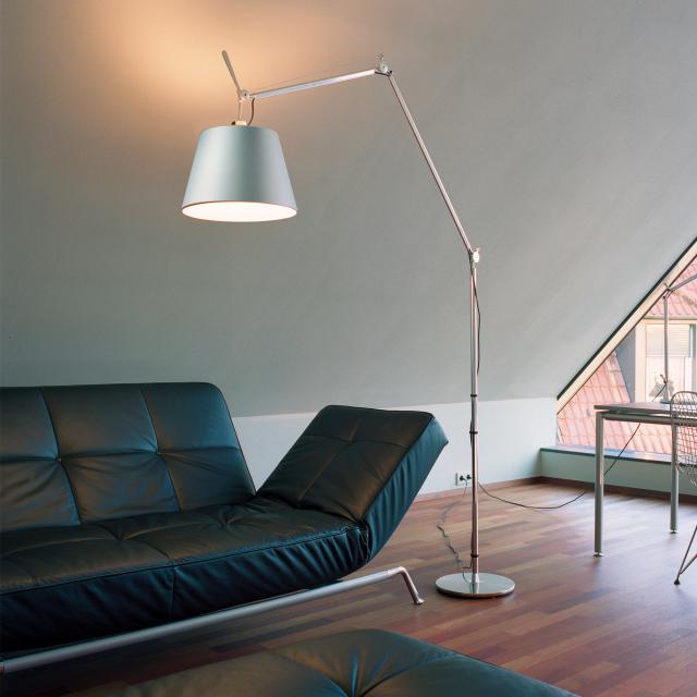Artemide Tolomeo Mega Terra LED floor lamp with dimmer