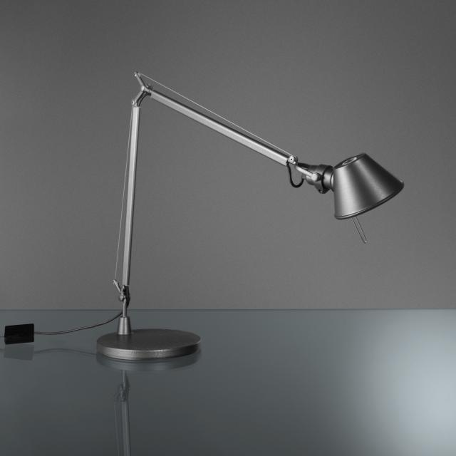 Artemide Tolomeo Midi LED table lamp with base and dimmer