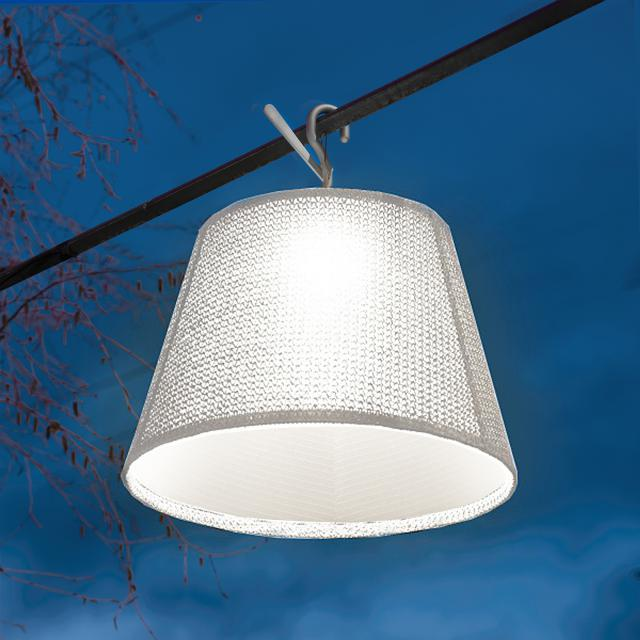 Artemide Tolomeo Paralume Outdoor hook LED pendant light