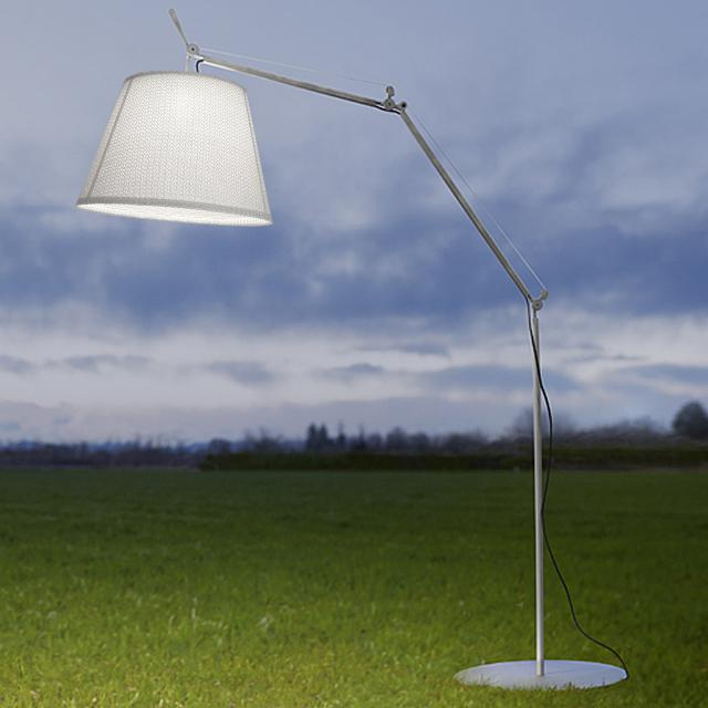Artemide Tolomeo Paralume Outdoor Terra LED floor light