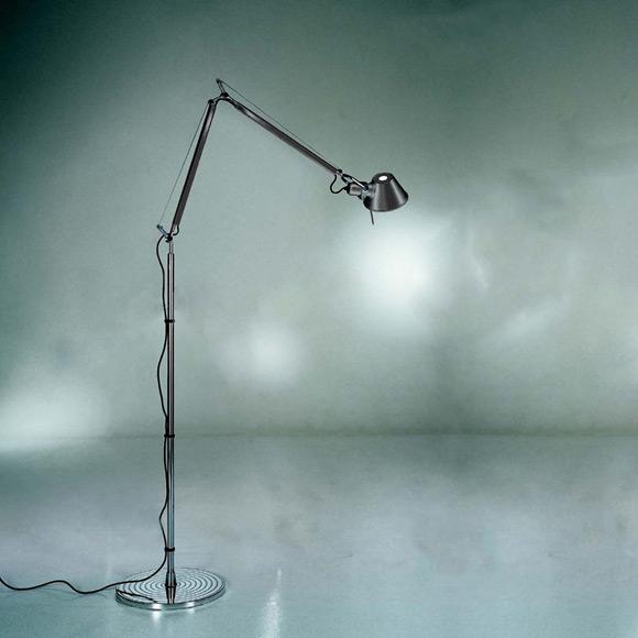 Artemide Tolomeo terra floor lamp with base