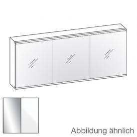 Artiqua Evolution 211 LED mirror cabinet front mirrored / corpus white gloss