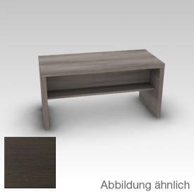 Artiqua 400 bench front: textured mocha horizontal / corpus: textured mocha horizontal