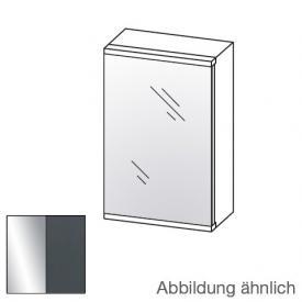 Artiqua Universal LED mirror cabinet front mirrored / corpus anthracite gloss