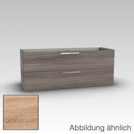 Artiqua 414 vanity unit with 2 drawers front castello oak / corpus castello oak