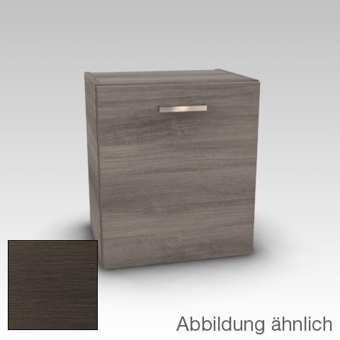 Artiqua 112 low cabinet with 1 door front textured mocha / corpus textured mocha