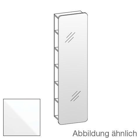 Artiqua 400 mirror rack front mirrored / corpus white gloss
