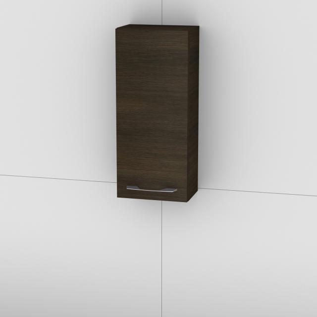 Artiqua 818 wall unit with 1 door front textured mocha / corpus textured mocha