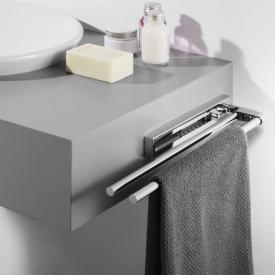 Avenarius double, telescopic towel bar