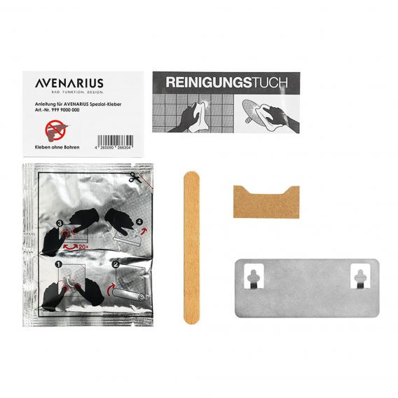 Avenarius special adhesive with square wall fitting