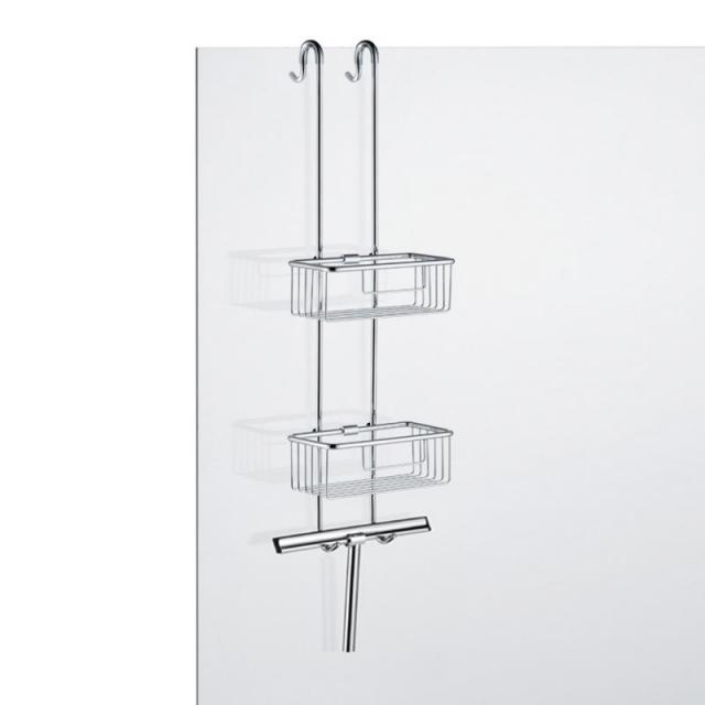 Avenarius double shower combination with squeegee with squeegee