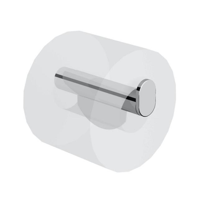 Avenarius free living! toilet roll holder with brake for hinged support rail