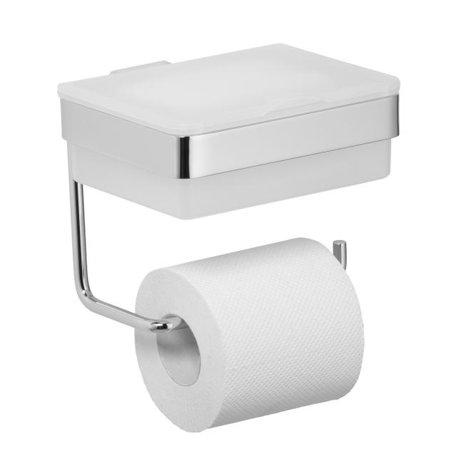 Avenarius toilet roll holder with wet wipe box