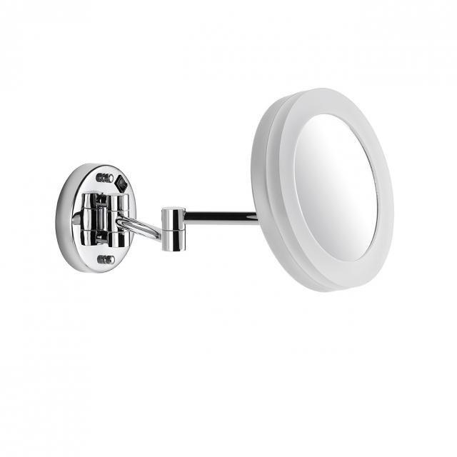 Avenarius wall-mounted beauty mirror with LED light, direct connection