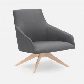 Andreu World Alya low-back armchair, fabric