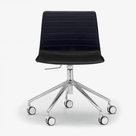 Andreu World Flex High Back chair, real leather
