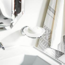 AXOR Carlton soap dish set chrome