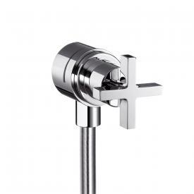 AXOR Citterio Fixfit Stop shut-off valve with cross handle