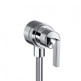 "AXOR Citterio Fixfit Stop shut-off valve with lever handle 1/2"""