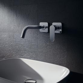 AXOR Citterio M concealed, wall-mounted single lever basin mixer with escutcheons projection: 227 mm