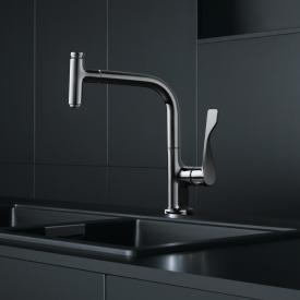 AXOR Citterio Select single lever kitchen fitting 230 2jet with pull-out spray and sBox chrome