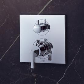 AXOR Citterio thermostatic mixer, shut-off/diverter valve with lever handle