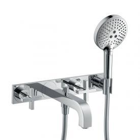 AXOR Citterio three hole, bath mixer, with cross handles chrome