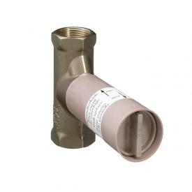 "AXOR installation unit 52 l/min for stop valve, concealed spindle 1/2"""