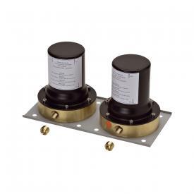 AXOR installation unit for 2-handle floorstanding bath mixer