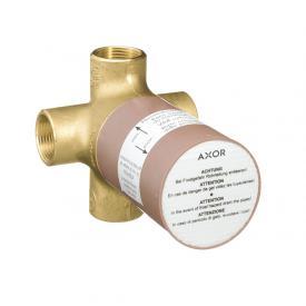 AXOR installation unit for Quattro concealed 4-way diverter valve