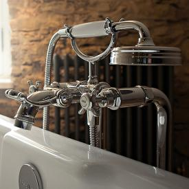 AXOR Montreux floorstanding, two handle bath mixer chrome