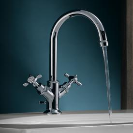 AXOR Montreux two handle basin mixer 160, for hand washbasins chrome