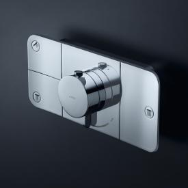 AXOR One concealed thermostatic module for 3 outlets