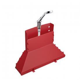 AXOR Secuflex deck-mounted set with hand shower