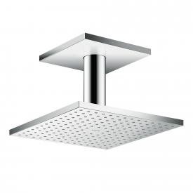 AXOR ShowerSolutions 2jet overhead shower with ceiling connection chrome