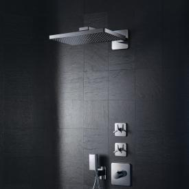 AXOR ShowerSolutions 460 / 300 1jet overhead shower with shower arm, with Softcube escutcheon