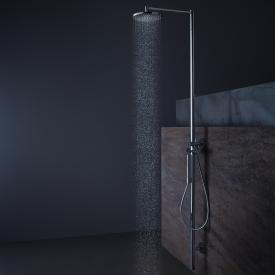 AXOR Starck shower column with thermostat and 1jet overhead shower