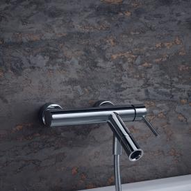 AXOR Starck single lever bath mixer, exposed installation