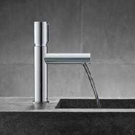 AXOR Uno Select single lever basin mixer 110 chrome, without waste set