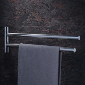 AXOR Uno² / AXOR Starck double towel bar 420 mm chrome