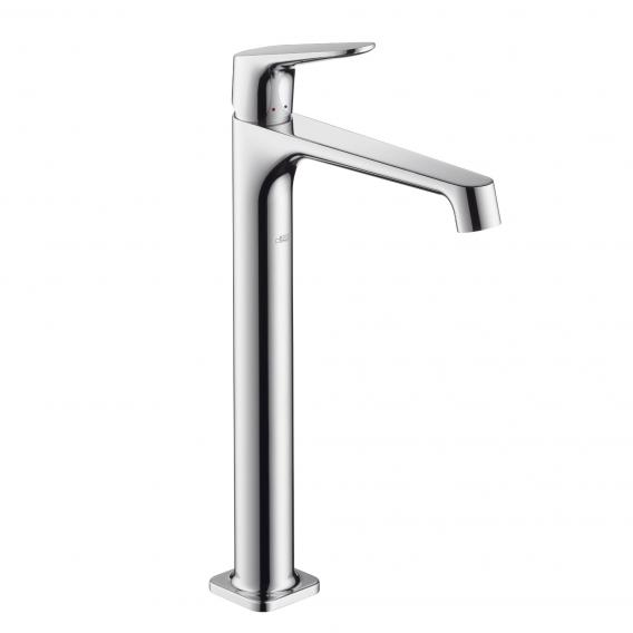 AXOR Citterio M single lever basin mixer for wash bowls chrome, with non-closing waste valve