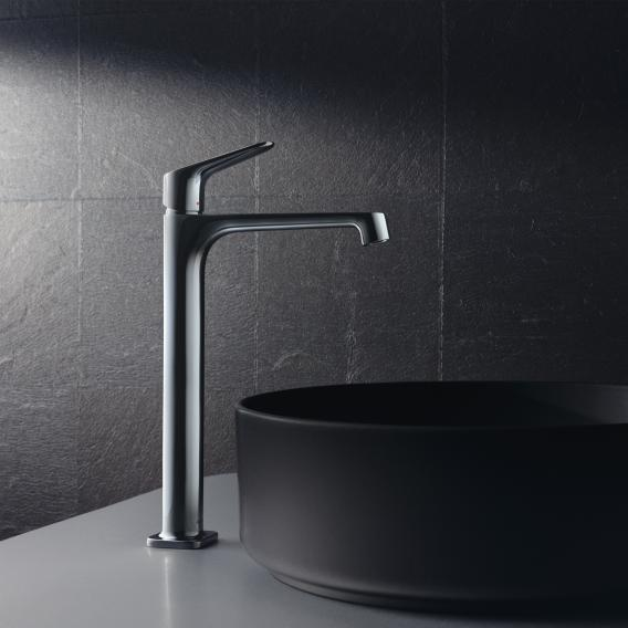 AXOR Citterio M single lever basin mixer for wash bowls with non-closing waste valve