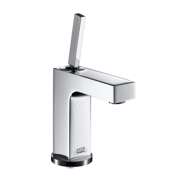 AXOR Citterio single lever basin mixer 110 chrome, with pop-up waste set