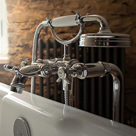 AXOR Montreux floorstanding, two handle bath mixer chrome