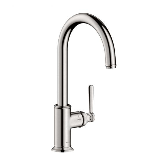 AXOR Montreux single lever kitchen mixer stainless steel look