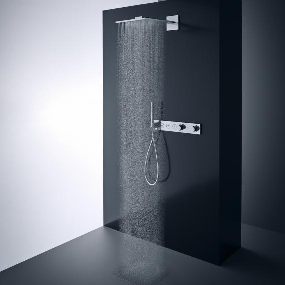 AXOR ShowerSolutions 1jet overhead shower with shower arm chrome