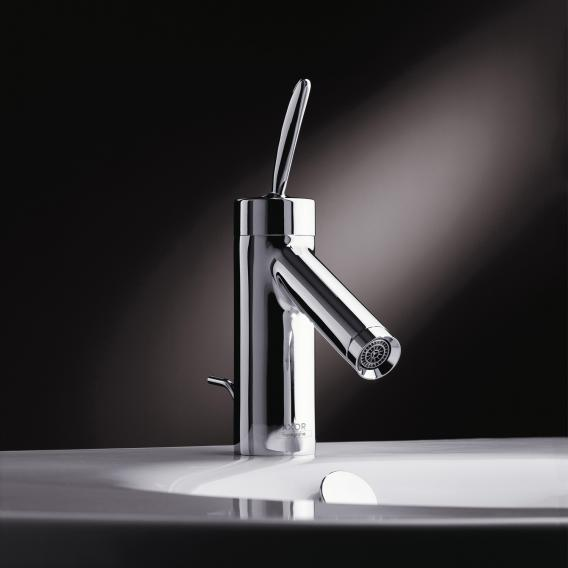 AXOR Starck Classic single lever basin mixer 70 with pop-up waste set
