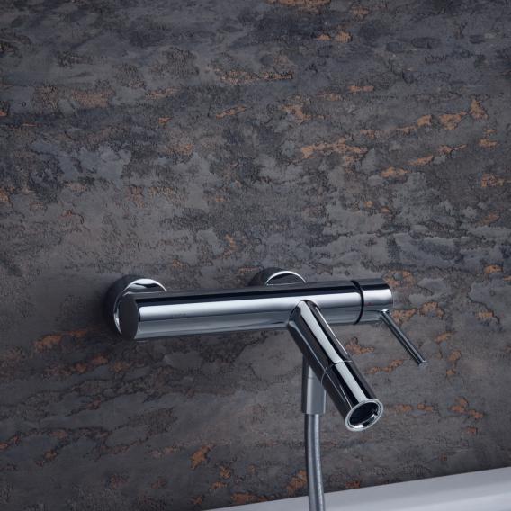 AXOR Starck single lever bath mixer, exposed installation
